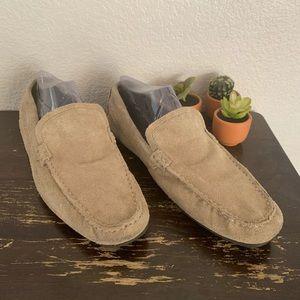 Marco Ferretti | Tan suede loafers 11 M